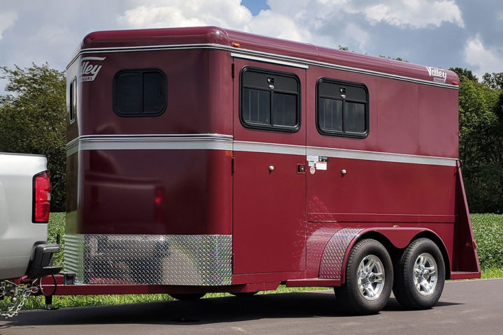 2414dr thoroughbred trailer